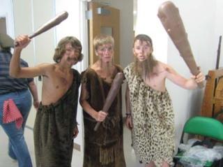 Cavemen!