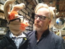 Adam Savage Rabbit, commissioned by..Adam Savage!