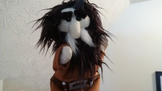 "Bifur puppet, affectionately christined ""MiniBifur"" by his new owner!"