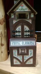 "A Holy grail of sorts--Tichenor's ""Puppet Playhouse"". Look at the detail!!"