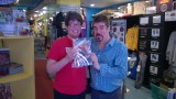 The Effervescent Mike Zapcic and me!