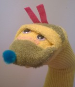 Caterpillar Sock Puppet